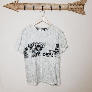 PacSun Shirts - On the byas Hawaiian style tshirt